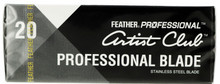 Feather Professional Artist Club Professional Blade. 20 Pack