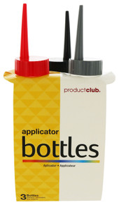Product Club 3 Pack Applicator Bottles