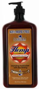 Hemp Golden Glow Bronzing Moisturizer with Skin Firming by Malibu 25.4 fl oz