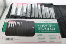 10 PC. Synthetic Cosmetic Brush Set by Fanta Sea