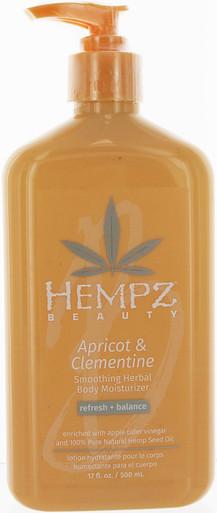 Hempz Apricot & Clemientine Soothing Herbal Body Moisturizer, 17 fl oz