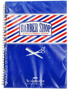 Barber Shop Appointment Book by Scalpmaster