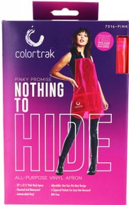 Colortrak Pinky Promise Nothing To Hide All Purpose Vinyl Apron