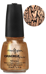 China Glaze Crackle Metal Cracked Medallion Nail Polish .5oz