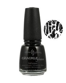 China Glaze Crackle Cracked Concrete Nail Polish .5oz