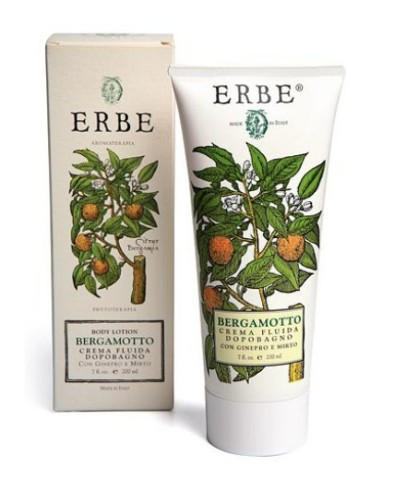 bergamot & juniper body lotion