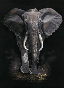 African elephant artwork by KayJohns