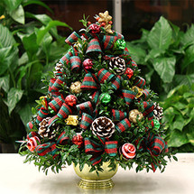 Holiday Magic Boxwood Tree