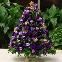 Holiday Happiness Boxwood Tree