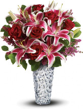 Diamonds And Lilies Bouquet