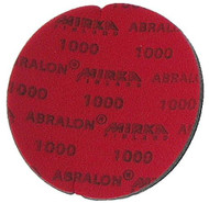 "Abralon Sanding Pad 1000 Grit  Do you need to sand your ball down to a different finish? If so this could be the perfect sanding pad for you. This is a 1000 grit sanding pad. It can be used wet, or dry. It works great with Powerhouse Ball Resurface. This sanding pad will last 5 times longer than sand paper. If you are looking to use a 1000 grit sanding pad on your ball then look at using this Abralon Sanding Pad 1000 Grit.  To return to Ebonite factory sanded finish Cosmetically appealing, consistent scratch pattern provides excellent traction Combines the benefits of abrasive cloth and non-woven products Opening in the fabric allows water to flow freely around the abrasive Resists ""caking""Foam center holds large amounts of water for lubrication and cooling Solid surface and foam backing provide even surface pressure Last 5+ times longer than sandpaper Use wet or dry (residual material can be removed by high pressure air)Works great on our Powerhouse Ball Resurfacer SKU: EQUIP076EA Product ID: 3906"