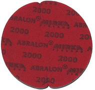 "Abralon Sanding Pad 2000 Grit  Do you need to sand your ball down to a different finish? If so this could be the perfect sanding pad for you. This is a 2000 Grit sanding pad. It can be used wet, or dry. It works great with Powerhouse Ball Resurface. This sanding pad will last 5 times longer than sand paper. If you are looking to use a 2000 Grit sanding pad on your ball then look at using this Abralon Sanding Pad 2000 Grit.  For a mild luster with texture underneath Cosmetically appealing, consistent scratch pattern provides excellent traction Combines the benefits of abrasive cloth and non-woven products Opening in the fabric allows water to flow freely around the abrasive Resists ""caking""Foam center holds large amounts of water for lubrication and cooling Solid surface and foam backing provide even surface pressure Last 5+ times longer than sandpaper Use wet or dry (residual material can be removed by high pressure air)Works great on our Powerhouse Ball Resurfacer SKU: EQUIP077EAProduct ID: 3907"
