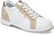 DEXTER WOMENS GROOVE IV WHITE/ROSE GOLD (AVAILABLE IN REGULAR AND WIDE WIDTH)