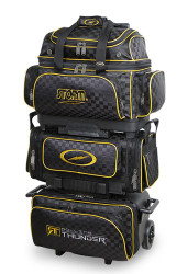 Storm Rolling Thunder 6 Ball Roller Checkered Black/Gold