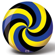 Brunswick Spiral Glow Viz-A-Ball Yellow/Black/Blue