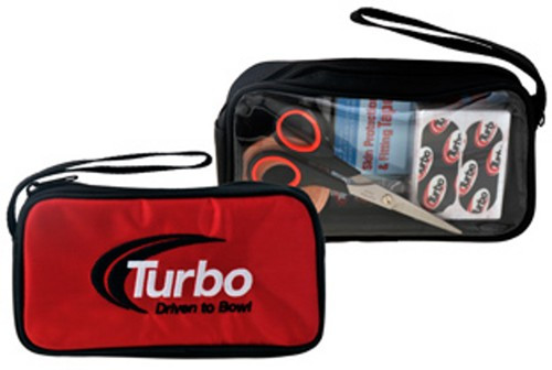 """This is a great item to add to your Turbo collection. It is a single accessory bag that can fit into any bowling bag you have. It can easily hold any of those smaller accessory items that tend to get lost in the main part of the bag.  ACCESSORIES NOT INCLUDED  Handy storage for extra inserts, adhesives, tape and other small accessoriesEmbroidered Driven to Bowl logoSingle zipper openingCarry strapDimensions: 8"""" x 4.25"""" x 2"""""""