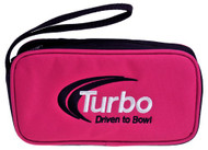 "Turbo Driven to Bowl Mini Accessory Case is the case for you and all of your accessories! Get this mini case today and never lose your accessories again!  Color: PinkEmbroidered Driven to Bowl logoSingle zipper openingCarry strapApproximate size: 8"" x 4.5""w x 2""d"