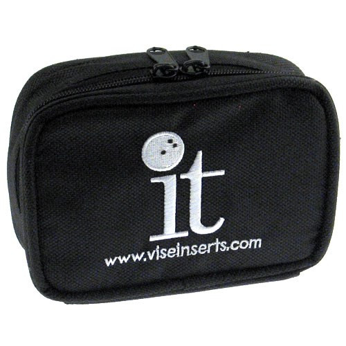 The new VISE accessory bag is designed specifically for holding interchangeable thumb inserts.  Color: BlackAble to hold up to 4 IT Thumbs