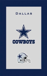 "NFL Dallas Cowboys Towel  Colorful designs16"" x 26"" velour towelIndividually packaged"