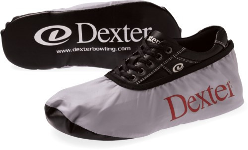 Protect your bowling shoe investment with the Dexter Shoe Covers. These shoe covers are designed to protect your slide sole during off-lane use. The synthetic bottoms protect and offer durability while the fabric upper has an elastic opening for a snug fit.  Sold in pairs  Color: Grey/BlackFabric upper with elastic openingSizing: Small (womens 5-9)Medium (womens 9.5-11, mens 6.5-9)Large (mens 9.5-15)