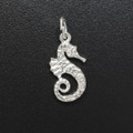 Sterling Silver Sea Horse Charm