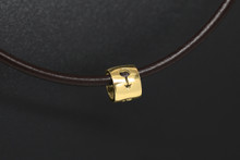 9ct Gold small male bead