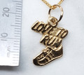 9ct Gold Love to Run Necklat