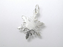 Sterling Silver Snowflake Small Charm 11mm