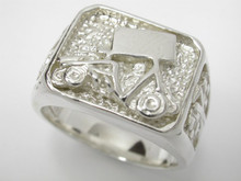 Sterling Silver Silver Gents Ring 14mm