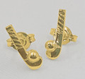 9CT GOLD STICK  STUDS G44-1018