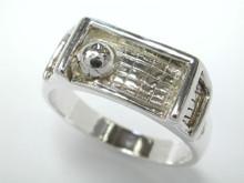 Silver Soccer Ring