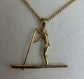 9ct gold SUP Female necklat SMALL G-2267