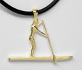 9ct Gold SUP female LARGE Necklat G-2266