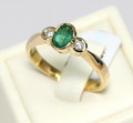 Hand made quality 18ct ring
