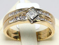 18ct Diamond Engagement & Diamond Wedder SET
