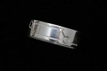 Sterling Silver Male Gender Ring