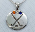 NETHERLANDS REP Pendant, stone set - Silver or Gold