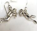 Sterling Silver Diver Drop earrings