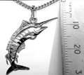 Sterling Silver MARLIN Pendant Large