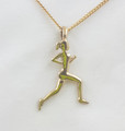 9ct Solid Gold Large Runner Necklace