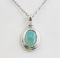 High Quality Palladium Silver 2 ct Solid Opal