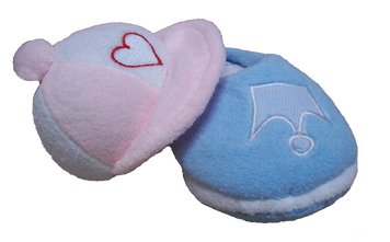 Cap and Slipper Puppy Pack
