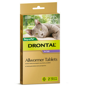 Drontal Tablets for Cats