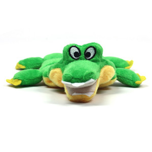 Mini Gator Squeaker Dog Toy