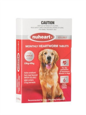 Nuheart for Large Dogs Red 6 Pack