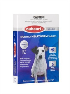 Nuheart for Small Dogs 6 Pack