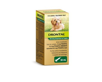 Drontal Puppies & Small Dog Worming Suspension