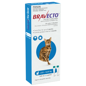 Bravecto Spot-On for Medium Cats