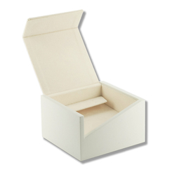 3208 Series High Quality Matte Wood & Chamel Earring and Pendant Box