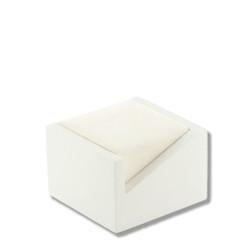 3200 Series High Quality Matte Wood & Chamel Ring Box